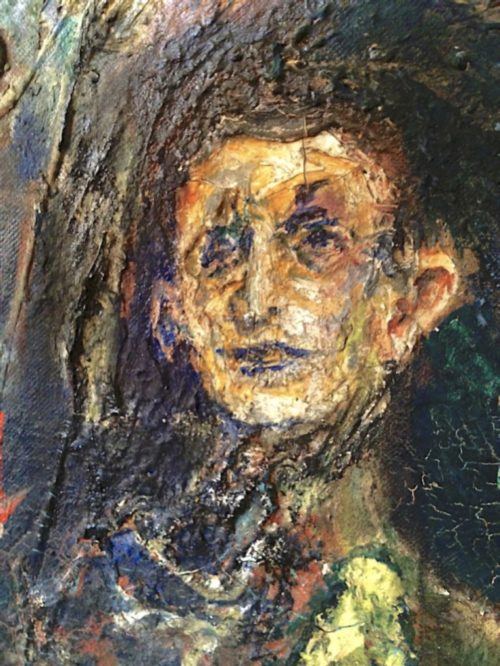 Panjo Art: Detail of Self-Portrait, 1964