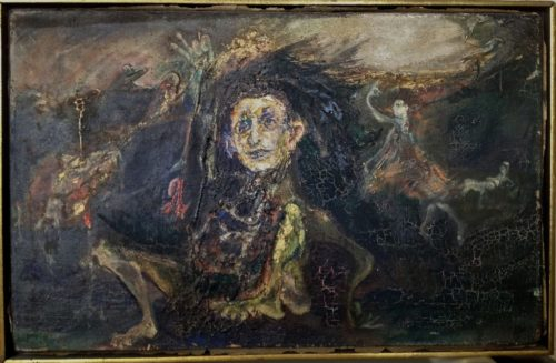 Panjo Art: Self-Portrait, 1964