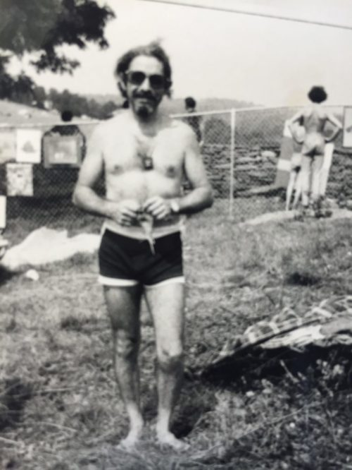 Panjo at Woodstock, 1969 2